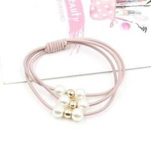5 for $25 Pack Of 2 Pink Hair Ties